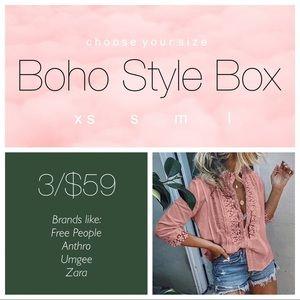 Boho Style Box